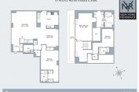 Midtown Condo Penthouse Duplex Floor Plan