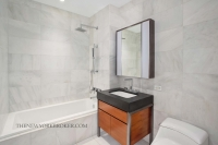 75 Wall Street Apartment Marble Bathroom