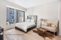 75 Wall Street Studio Apartment Living Space