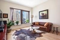 75 Wall Street One Bedroom Living Room