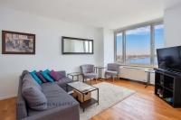 635 West 42nd Street Condo Living Room