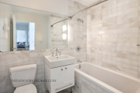 635 West 42nd Street Condo Marble Bathroom Midtown