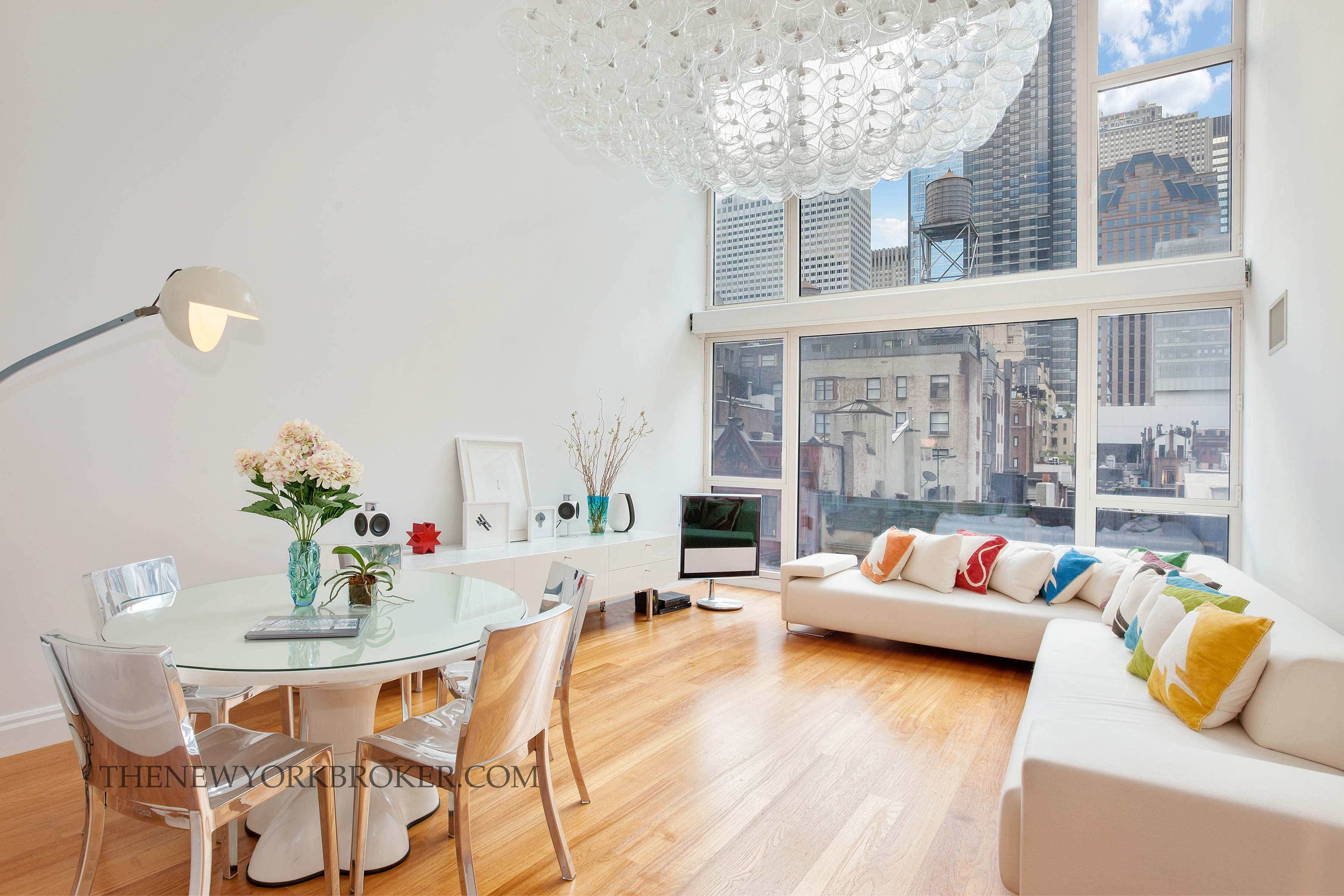 Double-height ceiling Midtown Condo